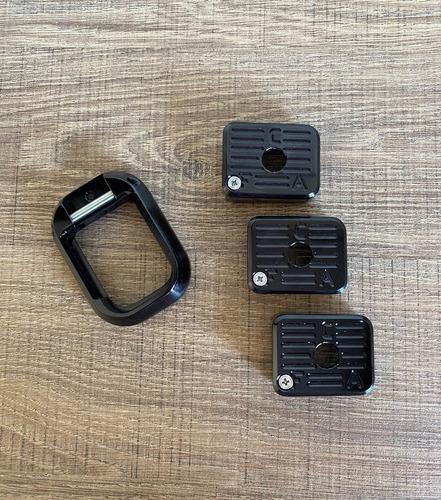 Kit Com 3 Bumpers + 1 Funil - Imbel - Alum Anodizado Black