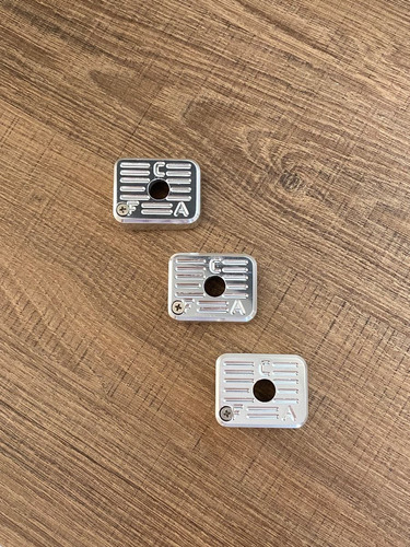 Kit Com 3 Bumpers Imbel - Aluminio Anodizado