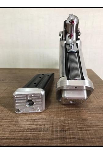 Kit Com 4 Bumpers + 1 Funil Em Alumínio - Imbel - Anodizado