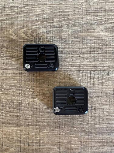 Kit Com 4 Bumpers + 1 Funil Imbel - Aluminio Anodizado Black