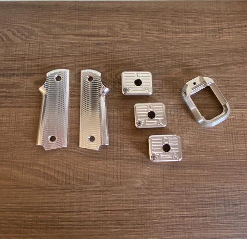 Kit Competição Imbel - Talas, Funil E 3 Bumpers Aluminio Anodizado