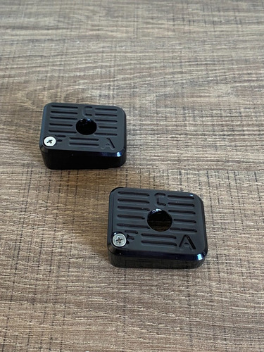 Kit Funil + 2 Bumpers - Imbel - Aluminio Anodizado Black