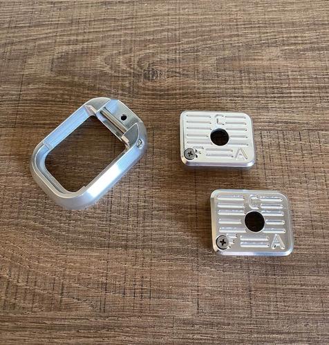 Kit Funil + 2 Bumpers - Imbel - Aluminio Anodizado Natural