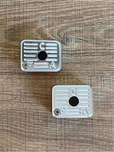 Par De Bumper Imbel GC MD1 / MD2 - Aluminio Anodizado Natural