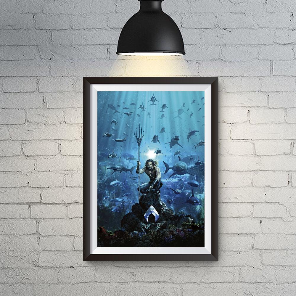 Quadro Decoração Aquaman Filme e Cidade de Atlântida