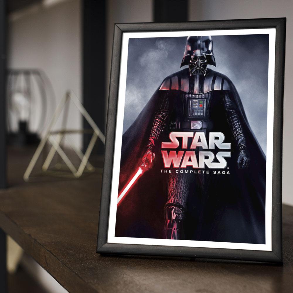 Quadro Decoração Geek Darth Vader Star Wars