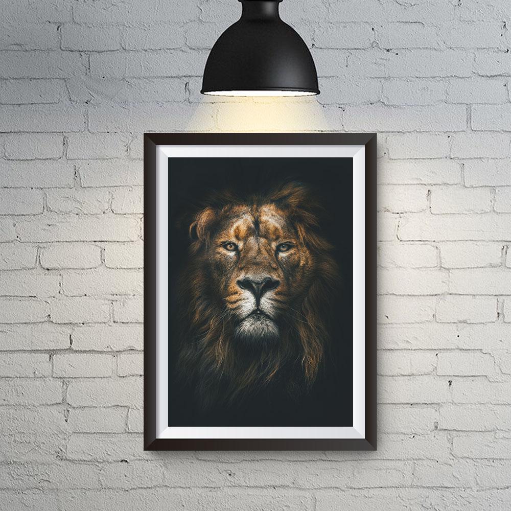 Quadro Decorativo para Escritório Espirito de Leão