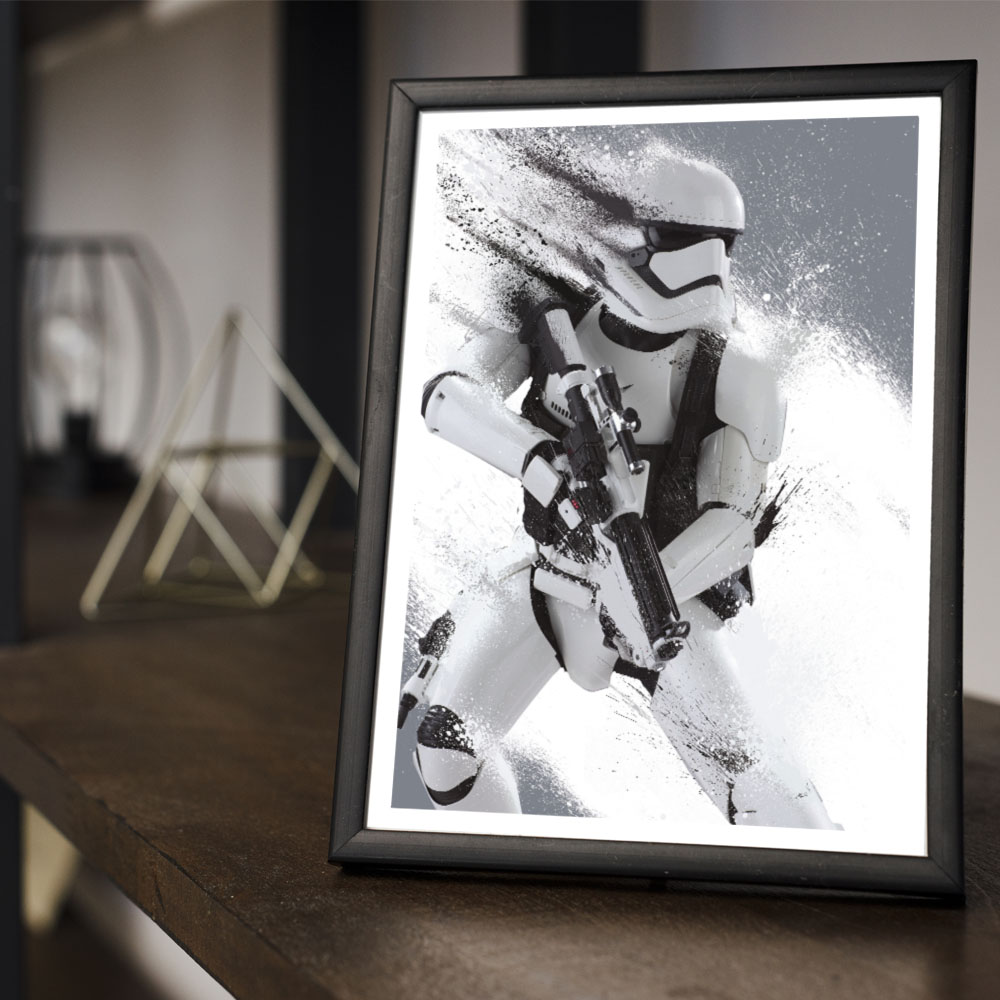Quadro Decoração Geek Stormtroopers Star Wars