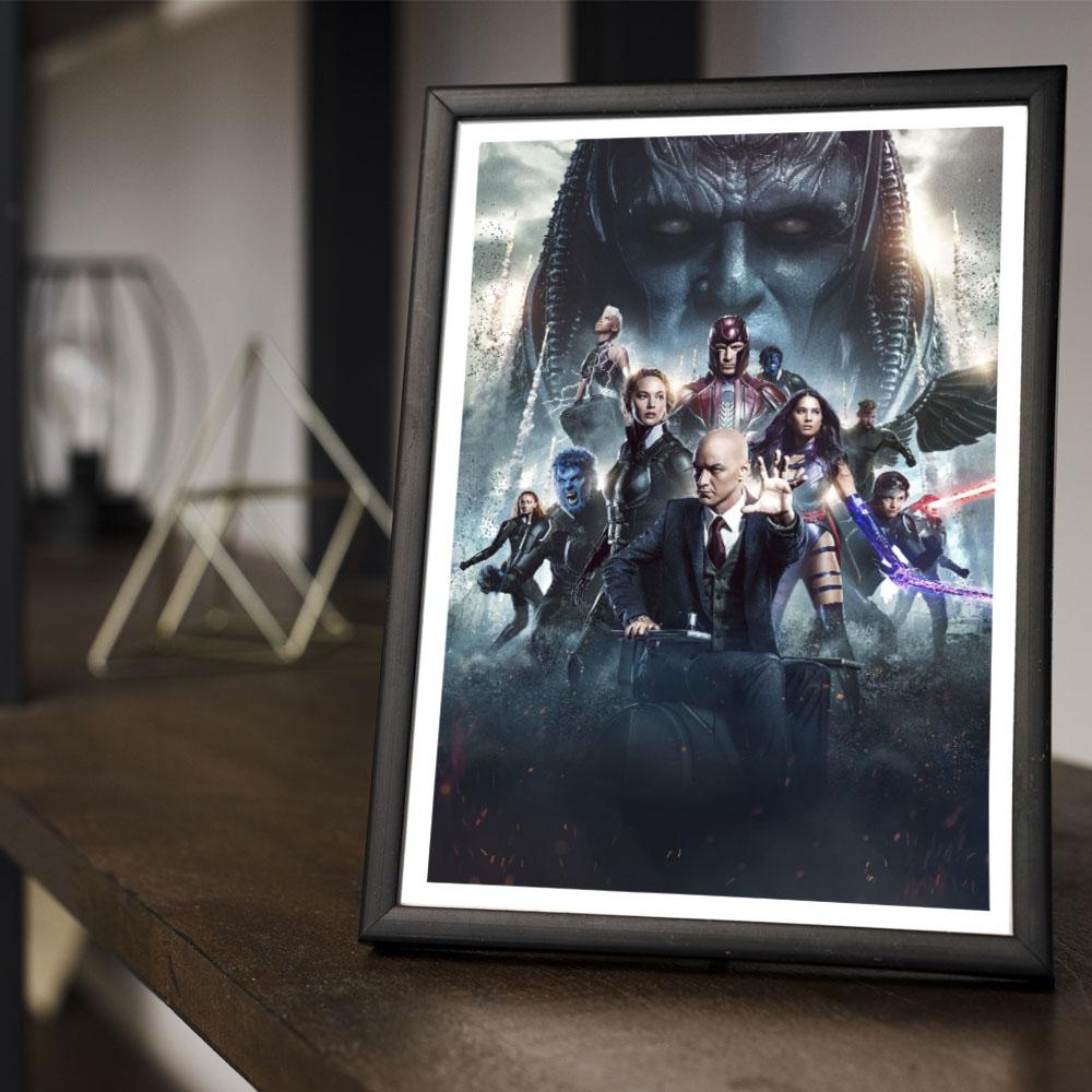 Quadro Decoração Geek Filme X-Man Apocalipse