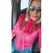 BLUSA RENDA LAÇO