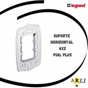 612122 Suporte Horizontal 4x2 PIAL PLUS LEGRAND