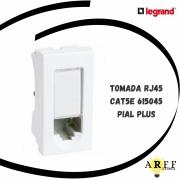 615045 Tomada RJ45 Catse PIAL PLUS LEGRAND