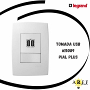 615089 Tomada USB PIAL PLUS LEGRAND