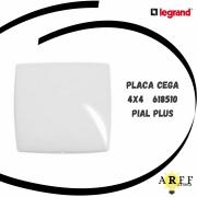 618510 PLACA CEGA 4X4 PIAL PLUS LEGRAND