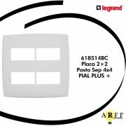 618514BC  Placa 2+2  Posto Sep 4x4  PIAL PLUS +