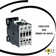 CONTATOR TRIPOLAR WEG MODELO CWM25-10-30V26