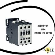 CONTATOR TRIPOLAR WEG MODELO CWM32-00-30V26