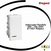 Interruptor Paralelo  LED 10a 250v 611021 Pialplus