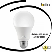Lâmpada Led Bulbo A70 / 11W / 3000k Brilia