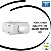 Módulo Dimer Rotativo 600W Branco 1 Módulo Composé WEG