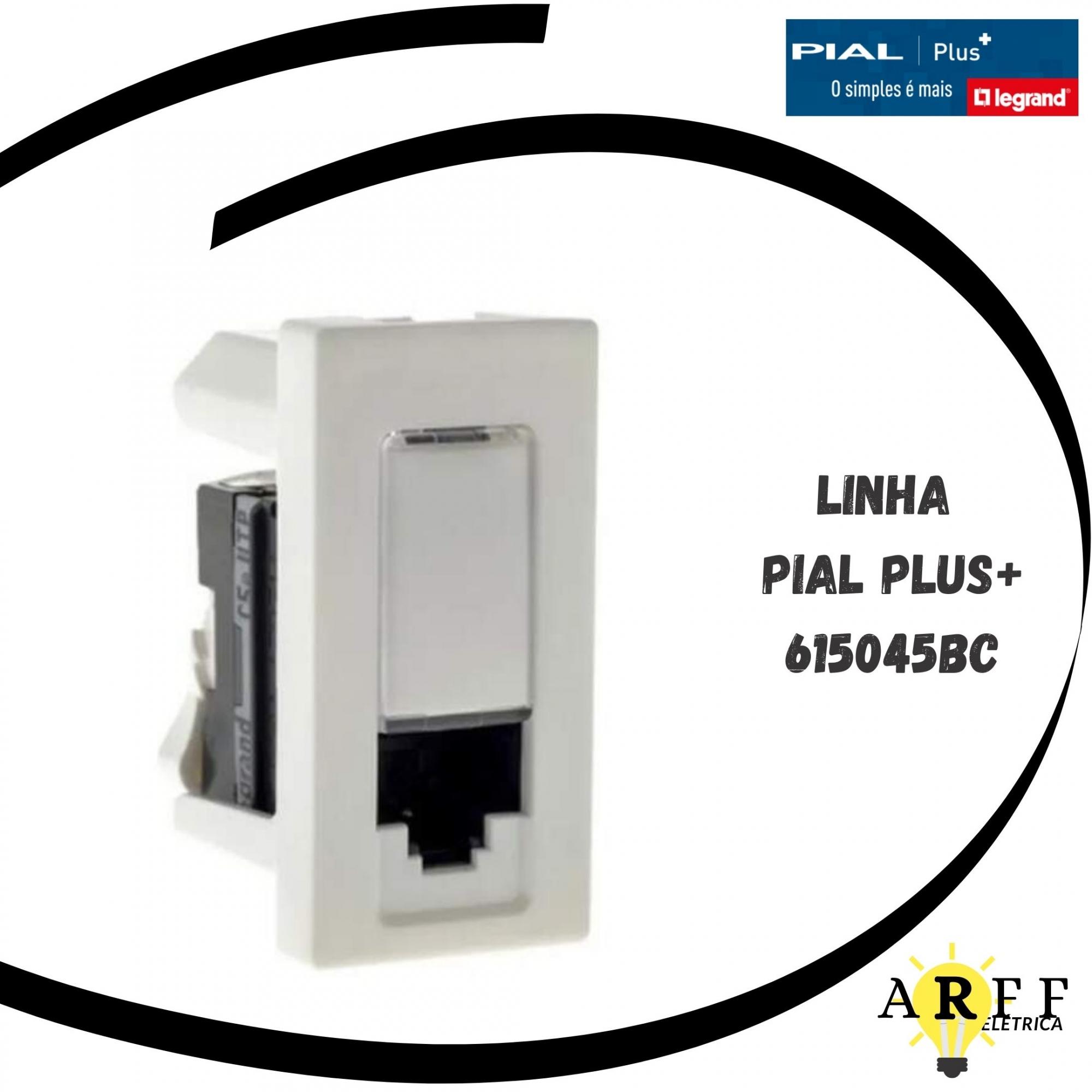 615045BC - Tomada de Dados LCS2 RJ45 CATSE PialPlus+