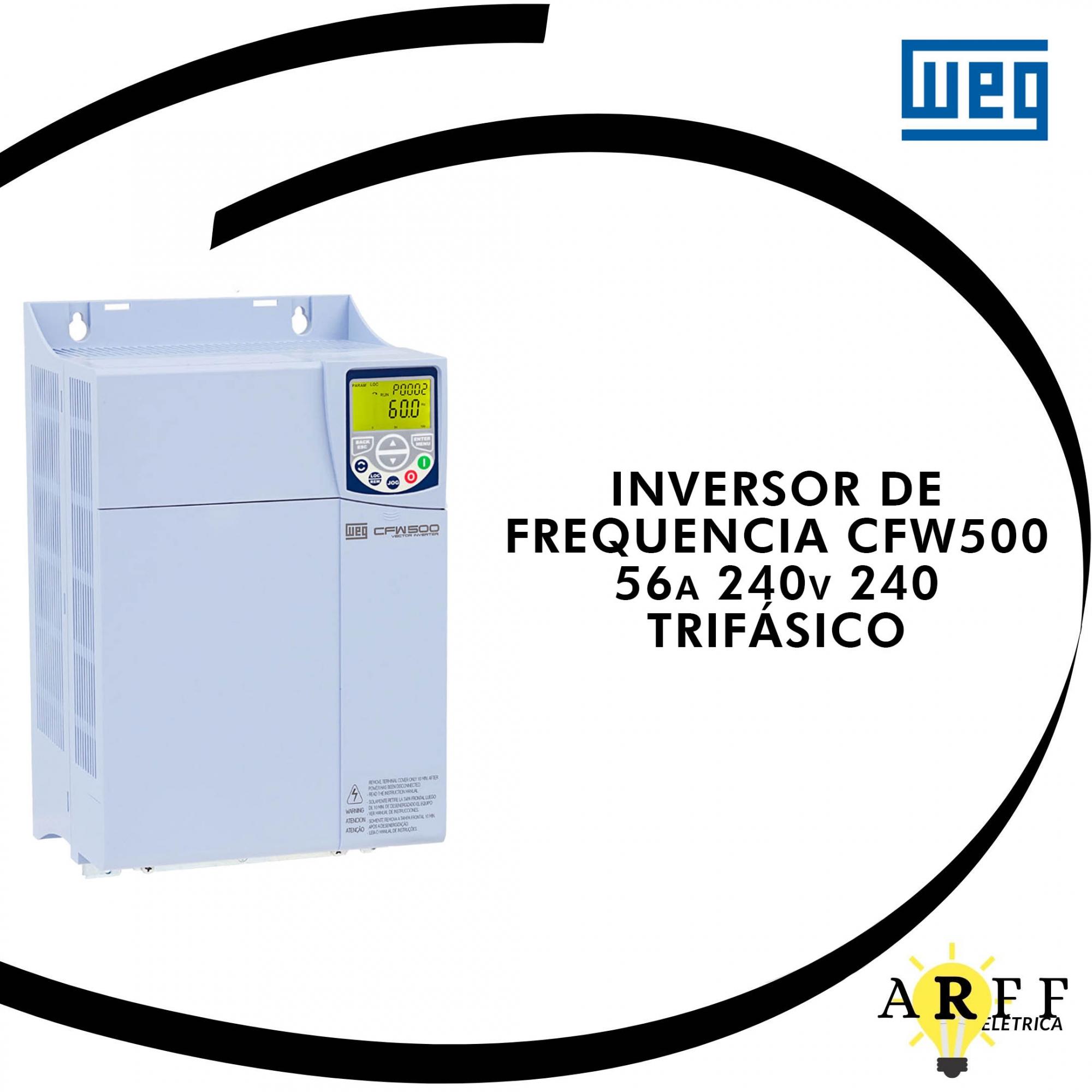 INVERSOR DE FREQUENCIA CFW500E56P0T2DB20