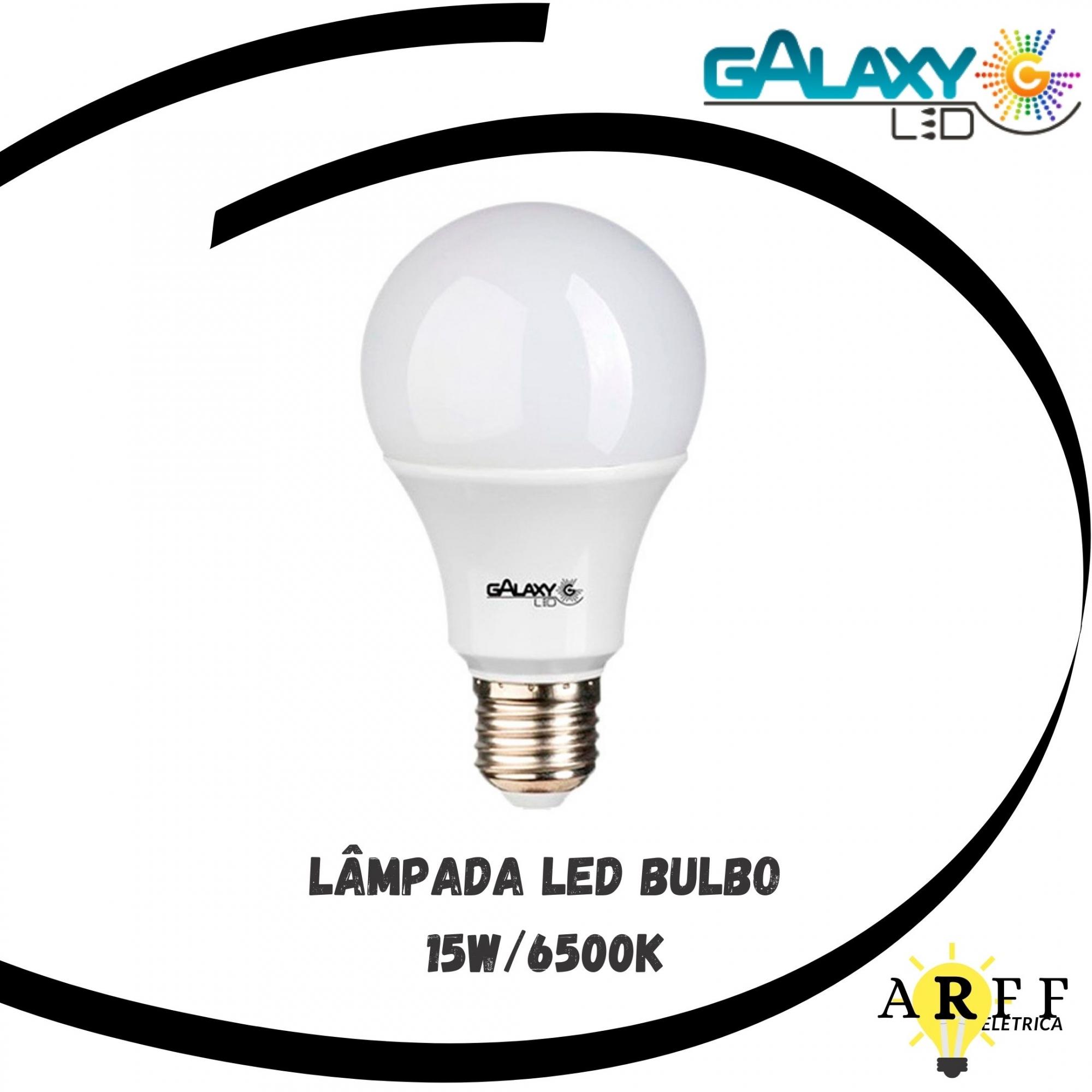 Lâmpada Led Bulbo 15W 6500k GALAXY LED