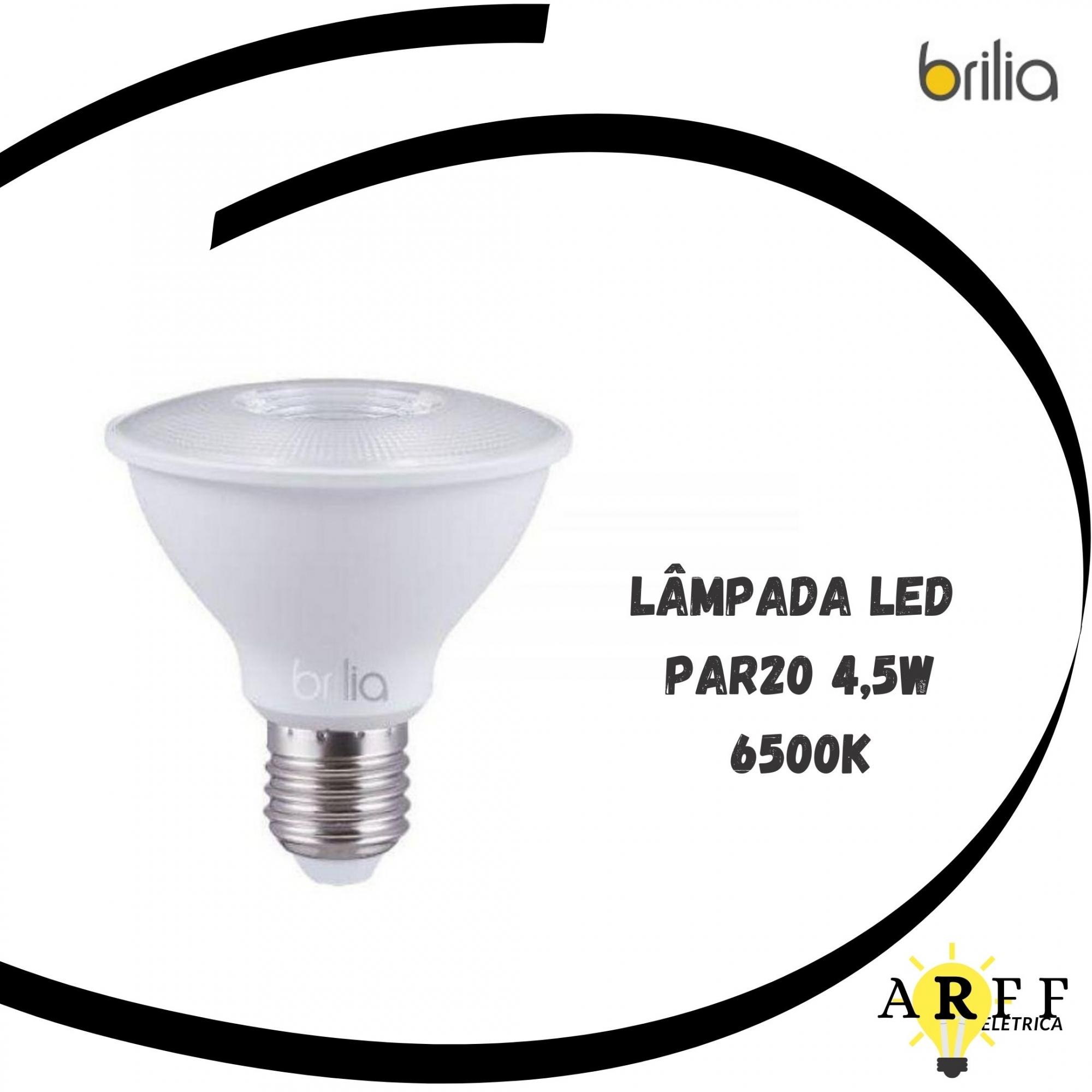 Lampada Led PAR20 4,5W 6500K Bivolt