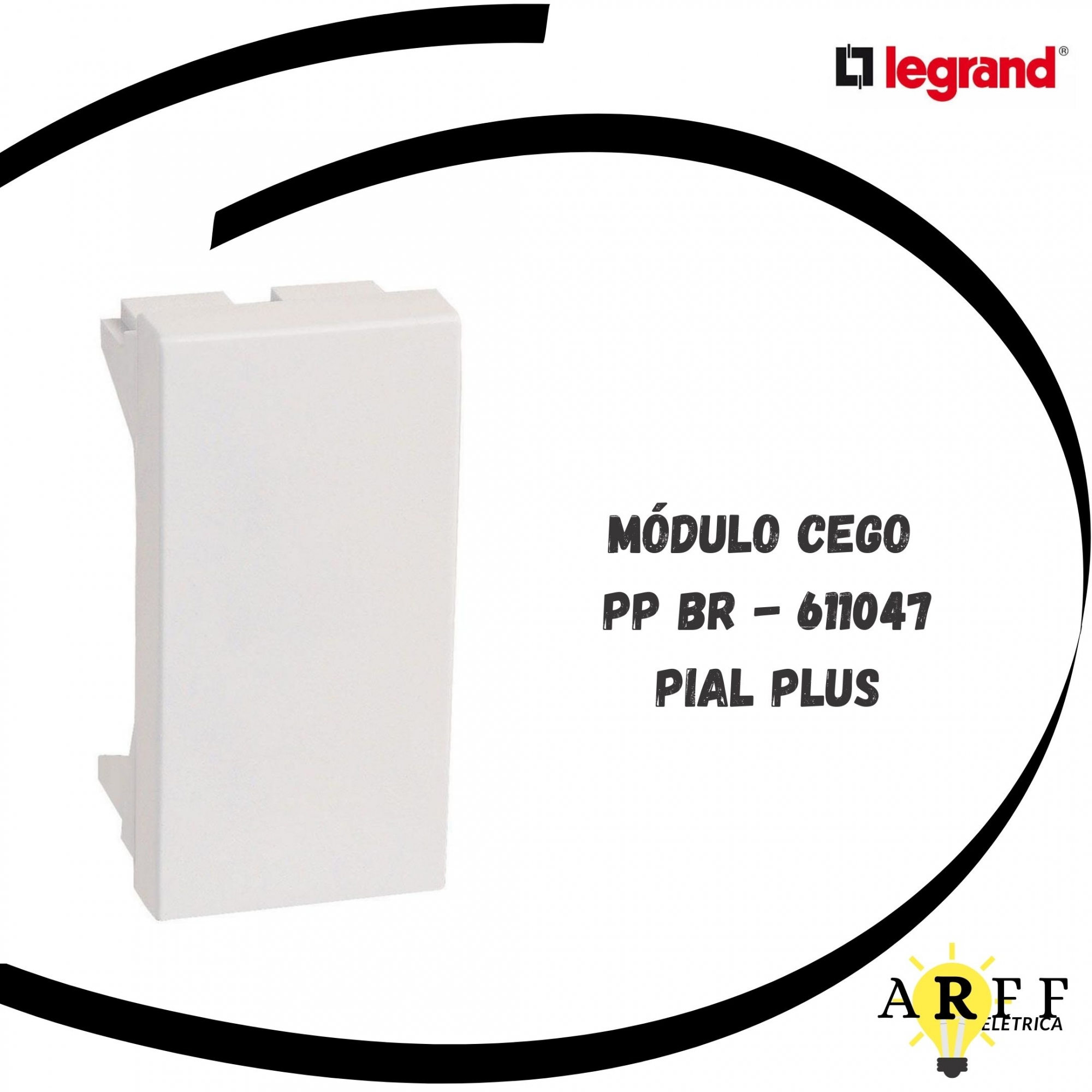 611047  Módulo Cego PP BR Pial Plus LEGRAND