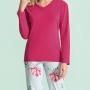 Pijama Longo Floral