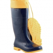 Bota PVC Com Polaina Cano Alto Safety Boots  Kadesh - PA18306CF