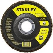 Disco Flap 4-1/2'' Grão 40 – Stanley - STA4040FZ