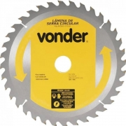 Lâmina de Serra Circular 250x30mm 36 Dentes  Vonder  46.50.250.360