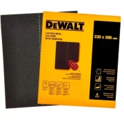 Lixa Ferro Grão 220 230x280mm  Dewalt  DAT20220S
