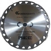 Serra Circular Com Ponta de Widea 24D 300x30mm  Carbografite  012478512