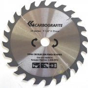 Serra Circular Com Ponta de Widea 24D 9-1/4 x25mm  Carbografite  012477612