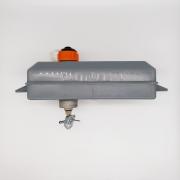 Tanque Combustível Cinza B Para Compactador de Solo - Importado