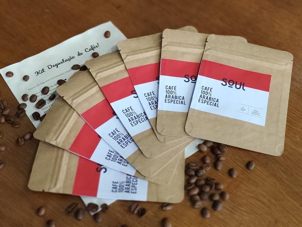 Kit Degustação de Cafés