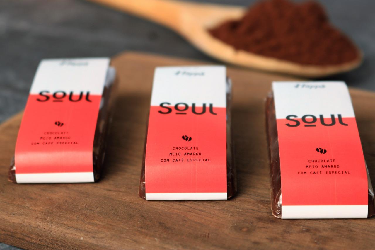 Tablete de Chocolate com Café