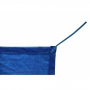 Tela de Sombreamento 80% Azul com Esticadores - Largura: 1,5 Metros