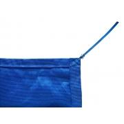 Tela de Sombreamento 90% Azul com Esticadores - Largura: 1 Metro