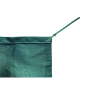 Tela de Sombreamento 90% Verde com Esticadores - Largura: 1,5 Metros