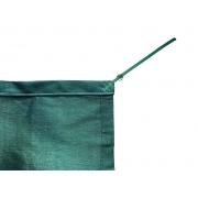 Tela de Sombreamento 90% Verde com Esticadores - Largura: 2 Metros