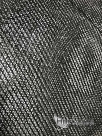 Tela de Sombreamento Preta 80% - 4,20 Metros x 16 Metros