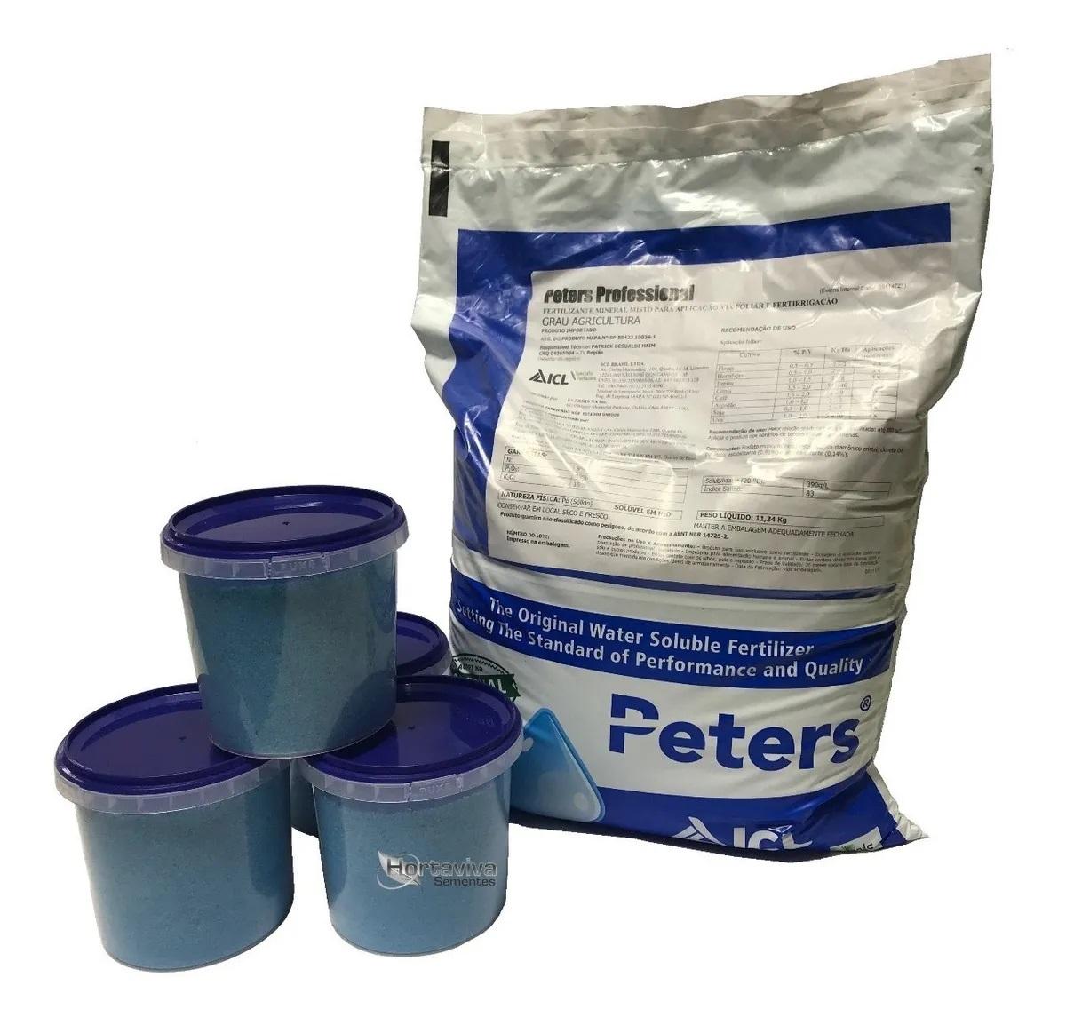 Fertilizante Peters Original - 09:45:15 - 11,34 Kilos