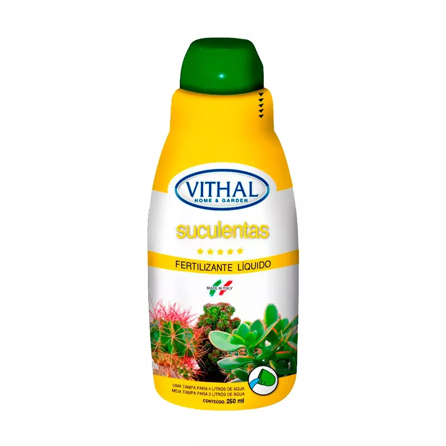 Fertilizante Vithal Líquido Suculentas 250ml