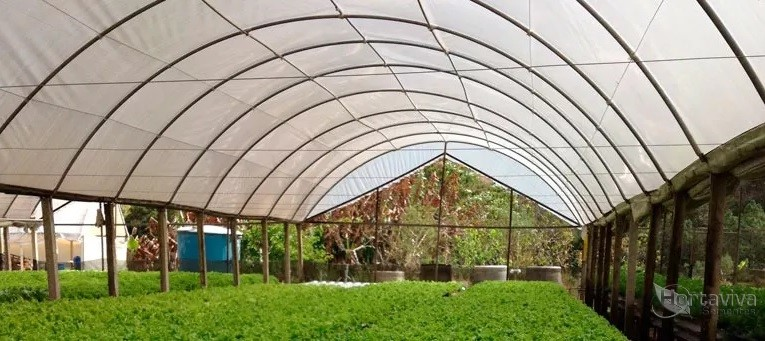 Filme Plástico para Estufa Agrícola 10m x 40m - 150 micras