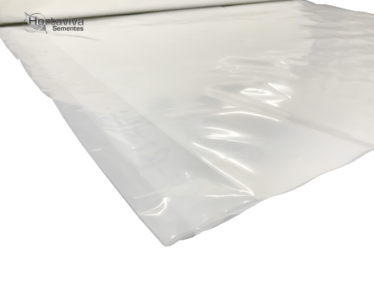 Filme Plástico para Estufa Agrícola 4m x 14m - 150 micras