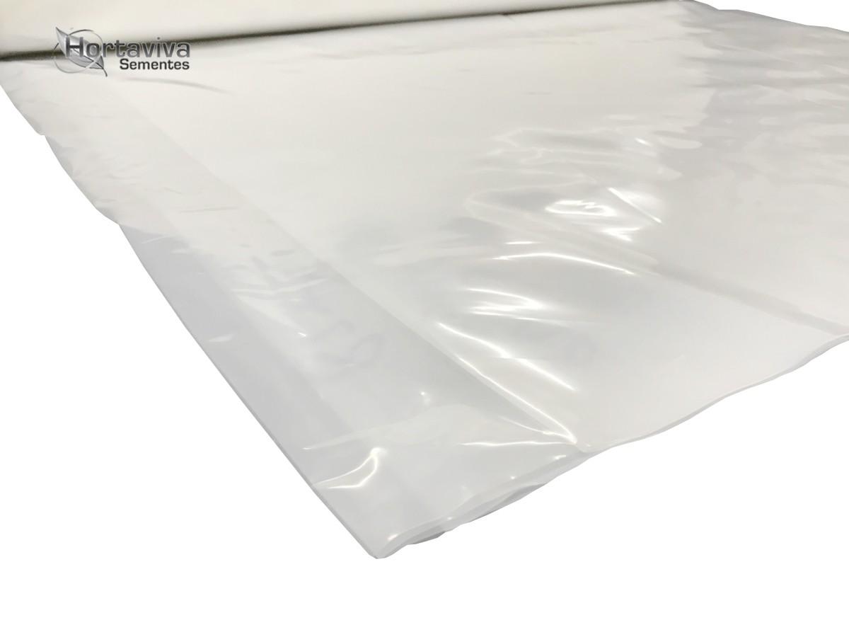 Filme Plástico Para Estufa Agrícola 6m X 7m - 100 micras