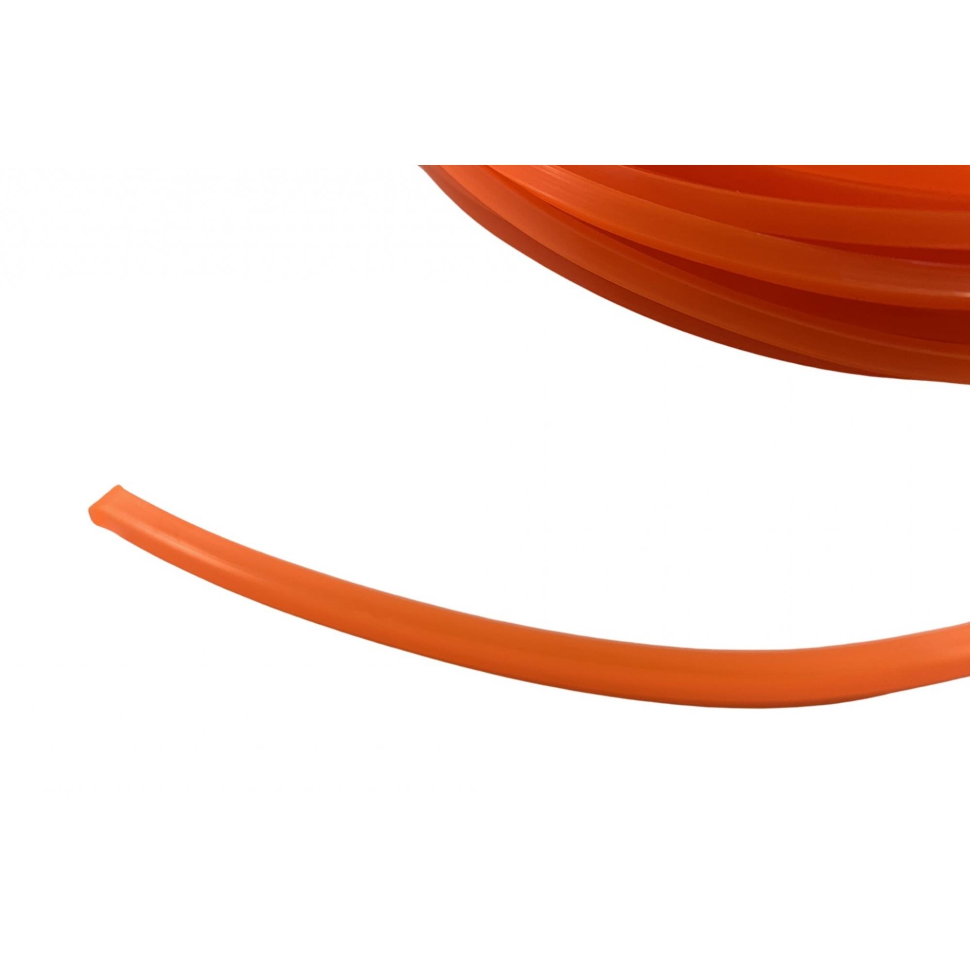 Fio De Nylon Quadrado 3mm Ekilon® Grass - 100 Gramas/ 11 Metros